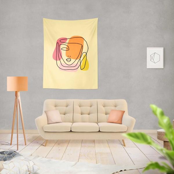 Marilyn Home Duvar Örtüsü 70x100 cm - Face V1