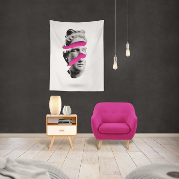 Marilyn Home Duvar Örtüsü 70x100 cm - Pembe Kafa