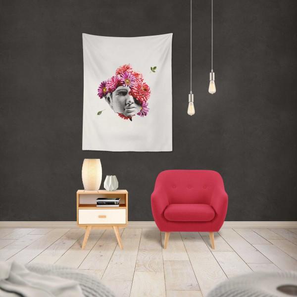 Marilyn Home Duvar Örtüsü 70x100 cm - Çiçek Kafa