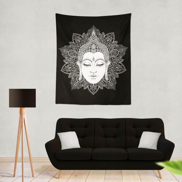 Marilyn Home Duvar Örtüsü 70x100 cm -  Mandala lsd Musica Fondos
