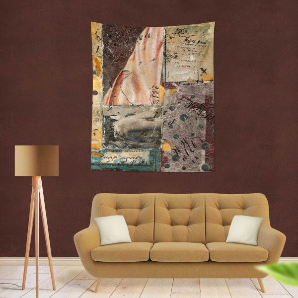 Marilyn Home Duvar Örtüsü 70x100 cm -  Vintage Collage 3