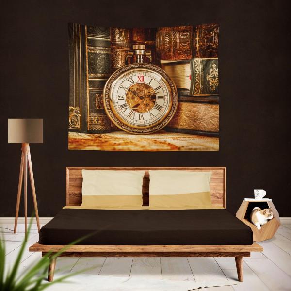 Marilyn Home Duvar Örtüsü 130x150 cm - Köstekli Saat Eski Kitap