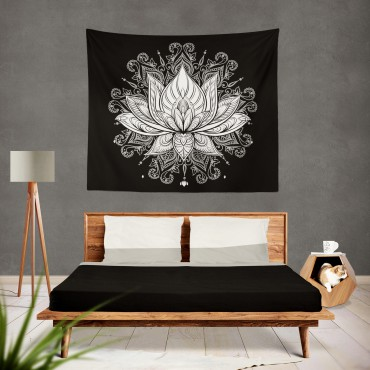 Marilyn Home Duvar Örtüsü 130x150 cm - Mandala Lotus