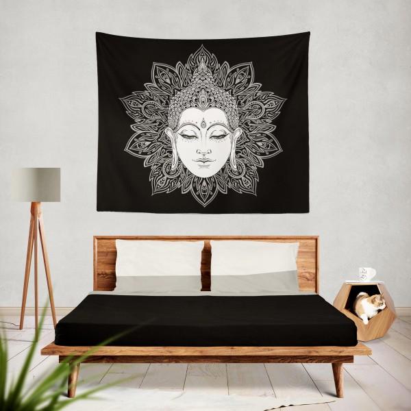 Marilyn Home Duvar Örtüsü 130x150 cm - Mandala lsd Musica Fondos