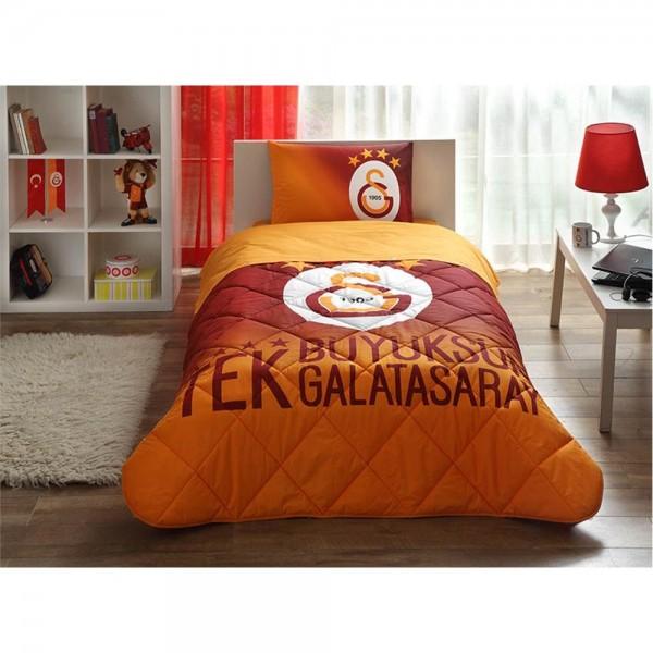 Taç Lisanslı Tek Kişilik Uyku Seti - Galatasaray 4. Yıldız