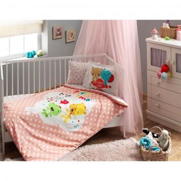 Taç Bebek Nevresim Takımı - Fisher Price Baby Girl