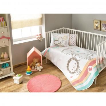 Taç Lisanslı Bebek Pike Takımı - Fisher Price Baby