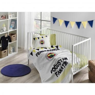 Taç Lisanslı Bebek Pike Takımı - Fenerbahçe Fanatik Baby