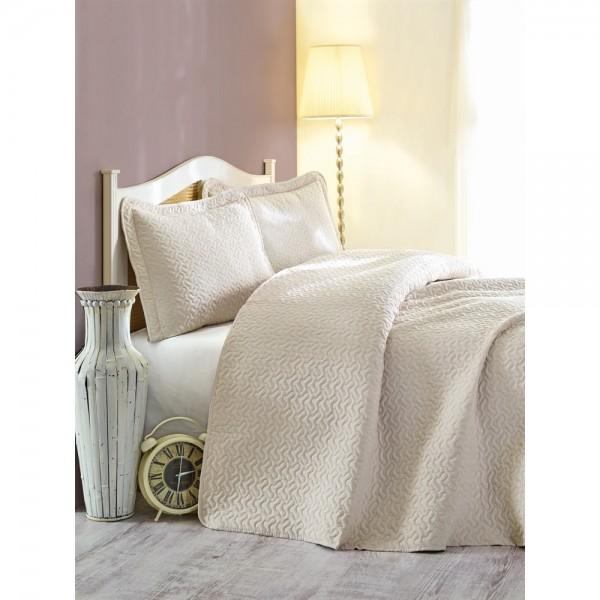 Cotton Box Daily Tek Kişilik Yatak Örtüsü Bej