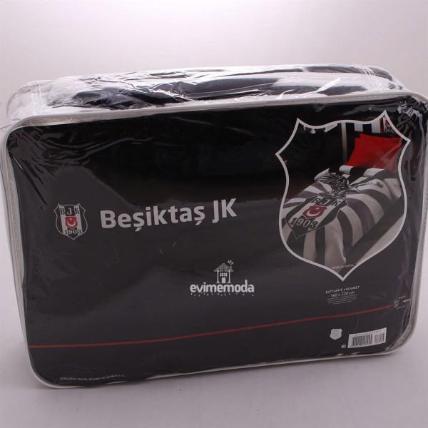Taç Lisanslı Beşiktaş Kartal Tek Kişilik Battaniye