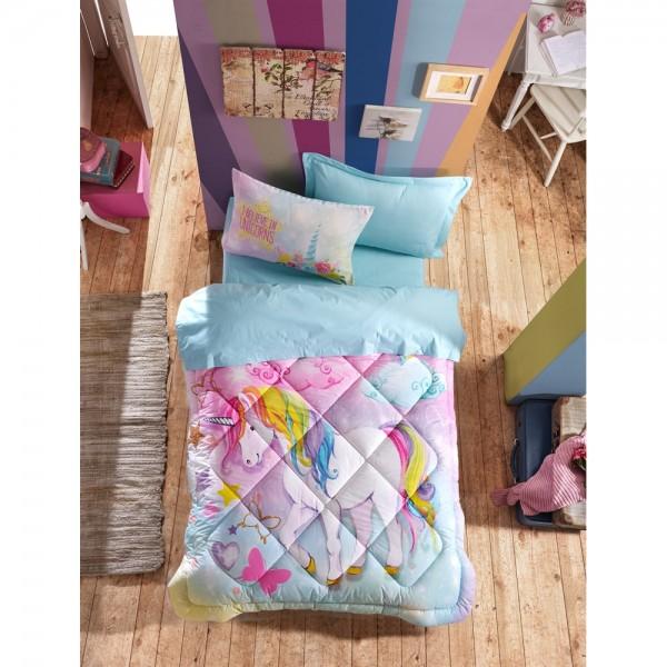 Cotton Box Junior Ranforce Tek Kişilik Uyku Seti - Dream Mint
