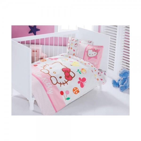 Hello Kitty Bebek Nevresim Takımı - Fancy