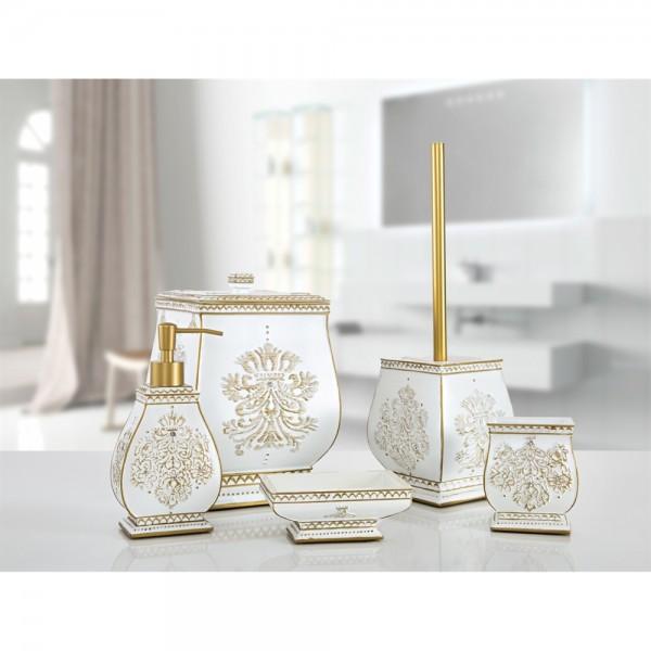 İrya KARLIS 5 Prç Banyo Seti Gold
