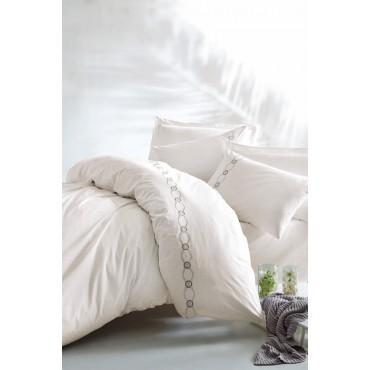 Cotton Box Çift Kişilik Klasik Saten Nevresim Takımı - Ramens