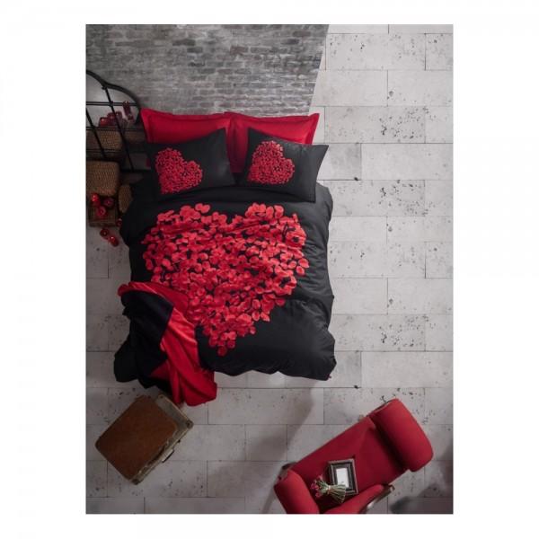 Cotton Box Sevgililer Günü Öze Battaniyeli Nevresim Takımı